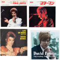 "Music Memorabilia:Recordings, David Bowie Group of Import 7"" Records (RCA/Castle, 1972-1999)...."