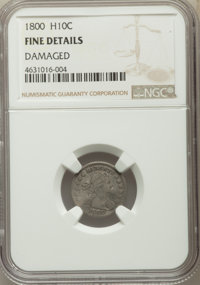 1800 H10C -- Damaged -- NGC Details. Fine. NGC Census: (4/130). PCGS Population: (20/271). CDN: $1,700 Whsle. Bid for pr...
