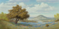 Fine Art - Painting, American, Joe G. Russell (American, 1926-2008). Springtime. Oil oncanvas. 24 x 48 inches (61.0 x 121.9 cm). Signed lower left:...