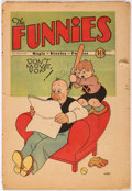 Platinum Age (1897-1937):Miscellaneous, The Funnies #21 (Dell, 1930) Condition: FR....