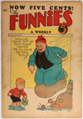 Platinum Age (1897-1937):Miscellaneous, The Funnies #24 (Dell, 1930) Condition: VG....