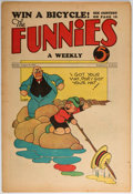 Platinum Age (1897-1937):Miscellaneous, The Funnies #27 (Dell, 1930) Condition: FN-....