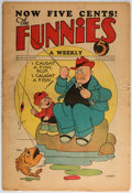 Platinum Age (1897-1937):Miscellaneous, The Funnies #23 (Dell, 1930) Condition: VG-....