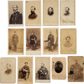Photography:CDVs, Union Soldiers: Collection of 34 Carte de Visites of Union Officers and Generals. ...