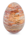 Lapidary Art:Eggs and Spheres, Agate Egg. Madagascar. 5.51 x 3.54 inches (14.00 x 9.00 cm)....