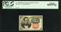 Fractional Currency:Fifth Issue, Fr. 1265 10¢ Fifth Issue PCGS Gem New 66PPQ.. ...
