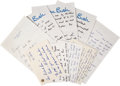 Autographs:U.S. Presidents, George H.W. Bush Archive of Letters. ...