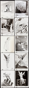 "Movie Posters:Animation, Peter Pan (Buena Vista, R-1958). Photos (18) (8"" X 10.25"").Animation.. ... (Total: 18 Items)"