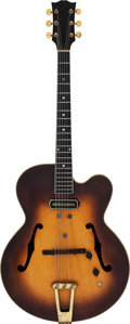 Musical Instruments:Electric Guitars, Barney Kessel's Circa 1946/1947 Gibson ES-350 Sunburst Archtop Electric Guitar. ... (Total: 3 )