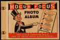 """Baseball Cards:Lots, 1948 Topps """"Hocus Focus"""" Magic Photo Albums With Cards (80) - Ruth, Cobb, Wagner, Gehrig. ..."""