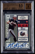 Football Cards:Singles (1970-Now), 2010 Playoff Contenders Rob Gronkowski (Blue Jersey) #229 BGS GemMint 9.5 - Auto 9. ...