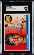 Autographs:Sports Cards, Signed 1955 Topps Al Kaline #4 SGC Authentic....