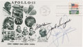 Explorers:Space Exploration, Apollo 13 Flight Crew-Signed Launch Cover Directly from the Family Collection of Astronaut Richard Gordon, with COA. ...