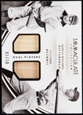 Baseball Cards:Singles (1970-Now), 2016 Immaculate Collection Ty Cobb/Honus Wagner Bat Sample Card #IDPHW Bat Samples Card #1/10. ...