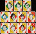 Baseball Cards:Lots, 1951 Topps Red Back Collection (11)....