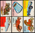 """Non-Sport Cards:Sets, 1954-55 Topps """"World On Wheels"""" Near Set (160/180)...."""