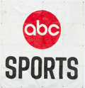 Miscellaneous Collectibles:General, 1974 IROC Indy Racing ABC Wide World of Sports Banner....