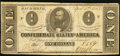 Confederate Notes:1863 Issues, T62 $1 1863 PF-18 Cr. 482.. ...