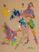 LeRoy Neiman (American, 1921-2012) Playboy Bunny, Tropical Fantasy Oil on board 24-1/2 x 19-1/2 inches (62.2 x 49.5 c