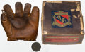 Baseball Collectibles:Others, 1930s Mel Ott Endorsed Goldsmith Fielder's Model Glove in Original Box....