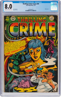 Thrilling Crime Cases #49 (Star Publications, 1952) CGC VF 8.0 Cream to off-white pages