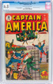 Captain America Comics #44 (Timely, 1945) CGC FN+ 6.5 Off-white to white pages