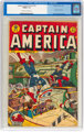Captain America Comics #45 (Timely, 1945) CGC FN/VF 7.0 Cream to off-white pages