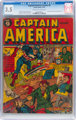 Captain America Comics #9 (Timely, 1941) CGC VG- 3.5 Cream to off-white pages