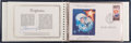 Autographs:Celebrities, Alexei Leonov: Album of Six First Day Covers Celebrating theTwentieth Anniversary of the Space Age with Signed Certificate....