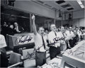 Explorers:Space Exploration, Apollo 13 Mission Control Photo Signed by Gene Kranz, Chris Kraft, Gerry Griffin, and Glynn Lunney....