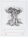 Animation Art:Concept Art, Winnie the Pooh One Special Tree Storybook Concept Art byCarson Van Osten Group of 11 (Walt Disney, 2010).... (Total: 11Items)