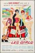 "Movie Posters:Musical, Les Girls (MGM, 1957). One Sheet (27"" X 41"") & Lobby Card (11"" X 14""). Artwork by John Fernie. Musical.. ... (Total: 2 Items)"