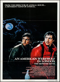 "An American Werewolf in London & Other Lot (Universal, 1981). Folded, Very Fine. One Sheets (2) (27"" X 41&q..."