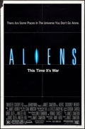 """Movie Posters:Science Fiction, Aliens (20th Century Fox, 1986). One Sheet (27"""" X 41"""") SS. Science Fiction.. ..."""