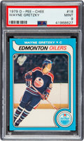 Hockey Cards:Singles (1970-Now), 1979 O-Pee-Chee Wayne Gretzky #18 PSA Mint 9 - Only One Higher. ...