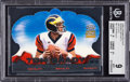 Football Cards:Singles (1970-Now), 2000 Pacific Crown Royale Tom Brady Rookie Royalty Die Cuts #2 BGS Mint 9 - Numbered 4/10 - .5 Away From BGS Gem Mint 9.5 - Th...