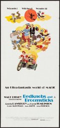 """Movie Posters:Animation, Bedknobs and Broomsticks (Buena Vista, R-1983). Australian Daybill(13"""" X 28""""). Animation.. ..."""
