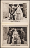 """Movie Posters:Western, Riders of the Purple Sage (Fox, 1918). Lobby Cards (2) (11"""" X 14""""). Western.. ... (Total: 2 Items)"""
