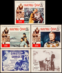 """Mysterious Island & Other Lot (Columbia, 1951). Title Lobby Card & Lobby Cards (4) (11"""" X 14"""")..."""