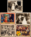 """Movie Posters:Western, Shootin' for Love & Other Lot (Universal, 1923). Very Fine-. Lobby Cards (5) (11"""" X 14""""). Western.. ... (Total: 5 Items)"""