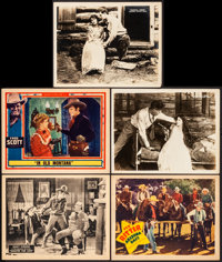 "Shootin' for Love & Other Lot (Universal, 1923). Very Fine-. Lobby Cards (5) (11"" X 14""). Western..."