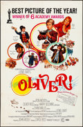"Movie Posters:Academy Award Winners, Oliver! & Others Lot (Columbia, 1968). International One Sheets(3) (27"" X 41"") Academy Awards Style. Artwork by Howard Terp...(Total: 3 Items)"