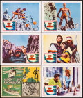 """Movie Posters:Fantasy, Jason and the Argonauts (Columbia, 1963). Lobby Cards (6) & Mexican Lobby Card (11"""" X 14""""). Fantasy.. ... (Total: 6 Items)"""
