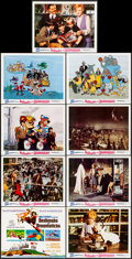 "Movie Posters:Animation, Bedknobs and Broomsticks (Buena Vista, 1971). Lobby Card Set of 9 (11"" X 14""). Animation.. ... (Total: 9 Items)"