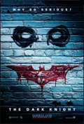 "Movie Posters:Action, The Dark Knight (Warner Brothers, 2008). One Sheet (27"" X 40"") DS Advance Graffiti Style. Action.. ..."