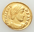 Ancients:Roman Imperial, Ancients: Valens (AD 364-378). AV solidus (4.36 gm).About VF,scratch....
