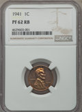 Proof Sets, Five-Piece 1941 Proof Set PR62 to PR64 NGC. Individually certified in holders from the same submission. The set includes: ... (Total: 5 coins)