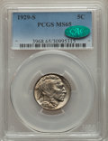 Buffalo Nickels: , 1929-S 5C MS65 PCGS. CAC. PCGS Population: (596/262). NGC Census:(191/58). CDN: $320 Whsle. Bid for problem-free NGC/PCGS ...