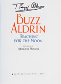 Explorers:Space Exploration, Buzz Aldrin Signed Books (Ten Copies): Reaching For The Moon, Originally from His Personal Collection.... (Total: 10 Items)