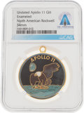 Explorers:Space Exploration, Apollo 11: Rockwell International Apollo 11 Commemorative Medal Directly From The Armstrong Family Collection™, Certified and ...